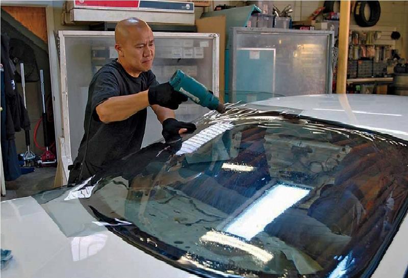Dán phim chống nóng Suntek cho ô tô