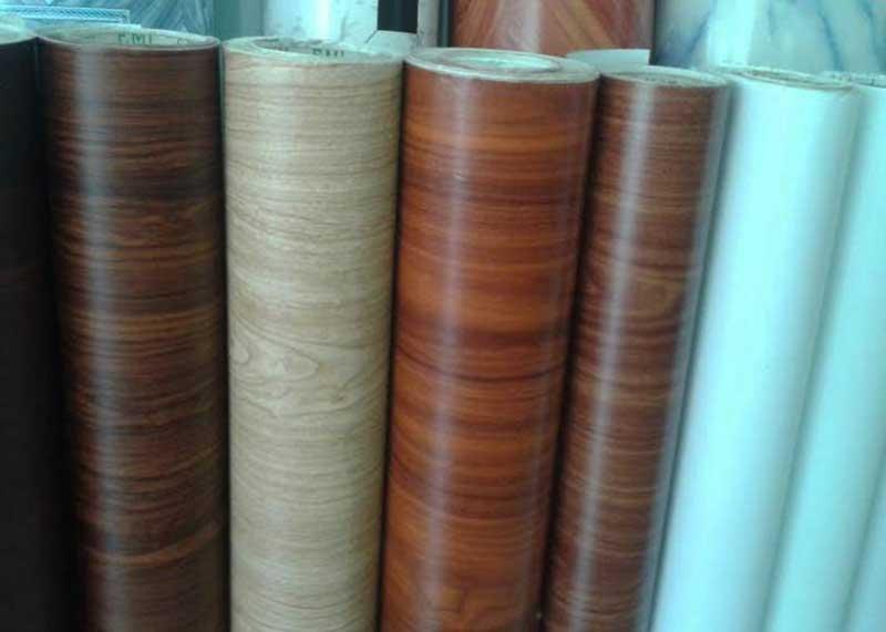 giấy dán tủ gỗ