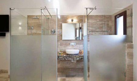 Giấy dán cửa kính nhà vệ sinh che mờ và trang trí