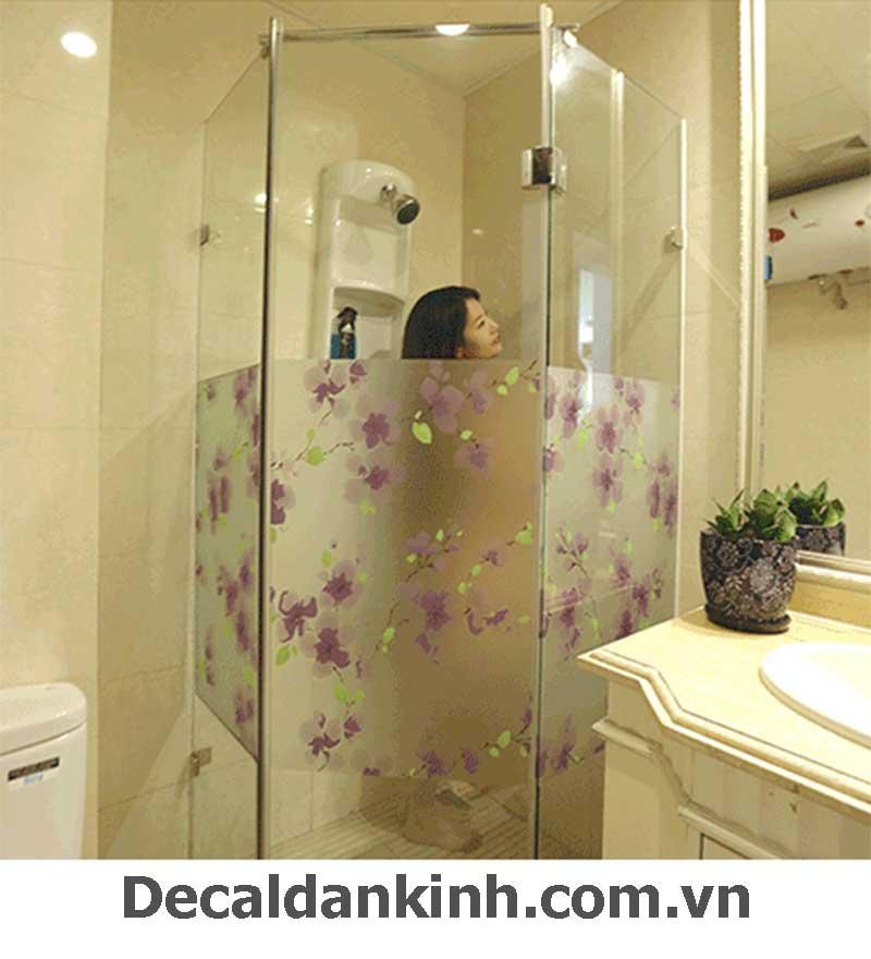 decal dán phòng tắm